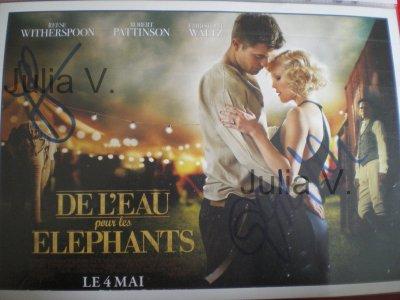 """Christoph Waltz  - Avant première """"de l'eau pour les éléphants """" - le 28 avril 2011 - Paris"""