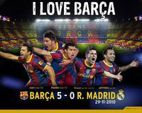 fc barcelona is the best team in the world he is galdiator