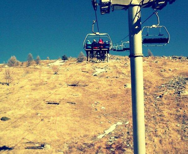 le ski par tout les temps