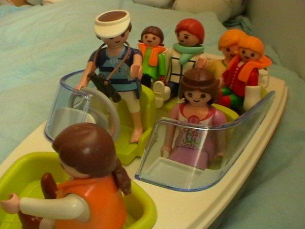 09/04/14 : Petite balade guidée en bateau...