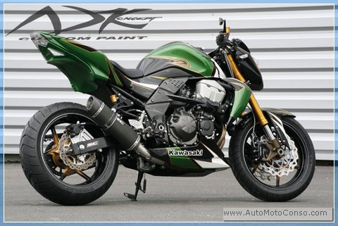 tuning moto kawasaki z750
