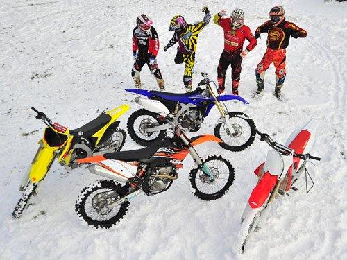 motocross sur neige,