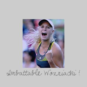 US OPEN DAY 08 - Caroline Wozniacki .