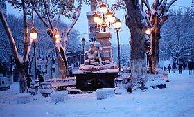 ain fouara sous la neige