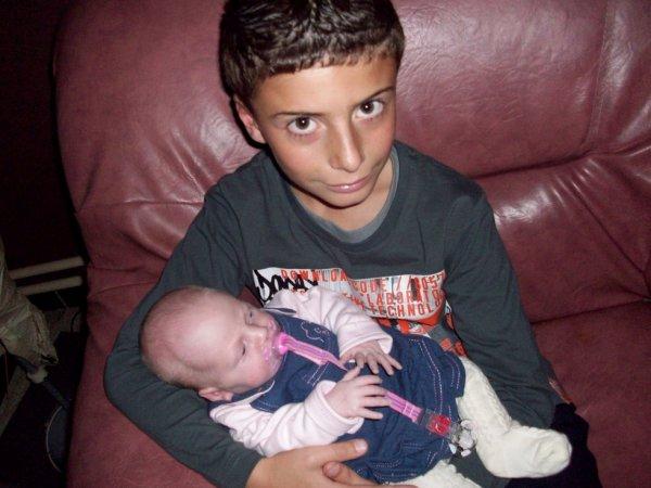 Mon cousin & ma petite soeur ! (l)