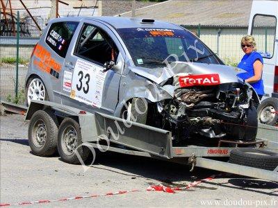 Rallye des Routes de Thiérache - ORIGNY-EN-THIERACHE - 2009