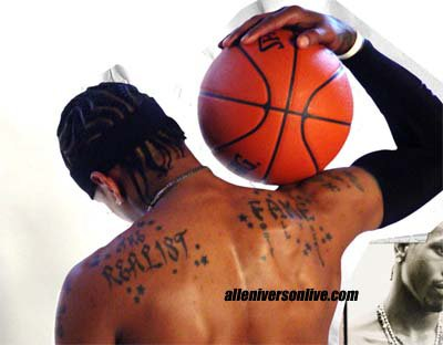 "Allen Iverson aka ""The Answer"""