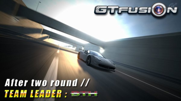GTfusion 2013 Overall Ranking after 2 round