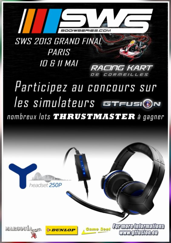 GTfusion contest at Grand Final SWS in Paris 2013