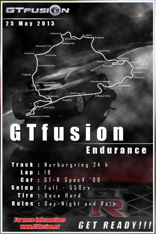 GTfusion 2013 Endurance Special Event