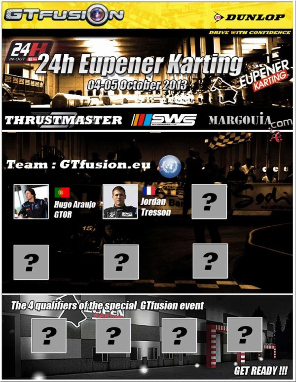 GTfusion at 24 H of Eupener Karting IN OUT 2013
