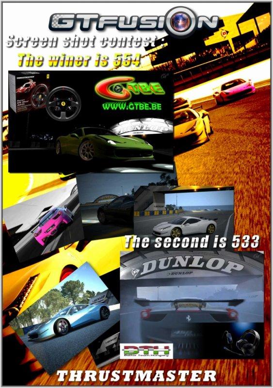 GTfusion Thrustsmaster Dunlop Screenshot contest