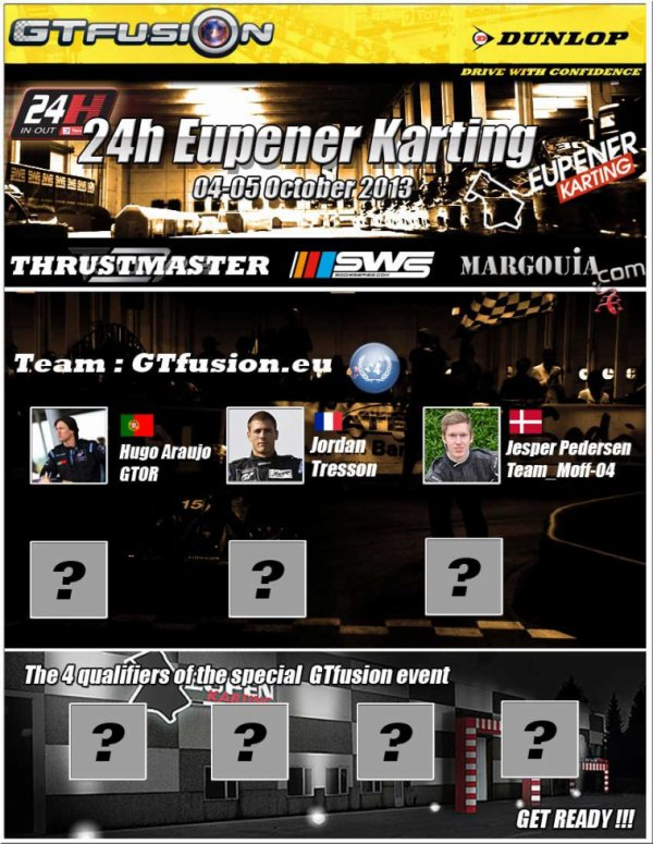 GTfusion in 24 H of Eupener Karting IN OUT 2013