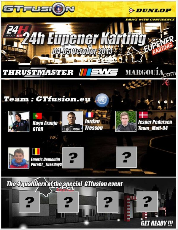 GTfusion.eu at 24H of eupener Karting IN OUT 2013
