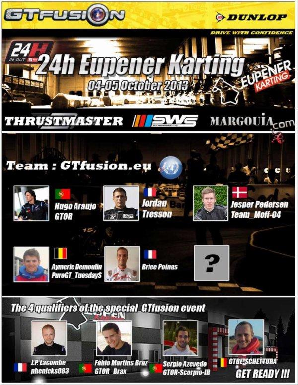 GTfusion.eu to 24H Eupener Karting