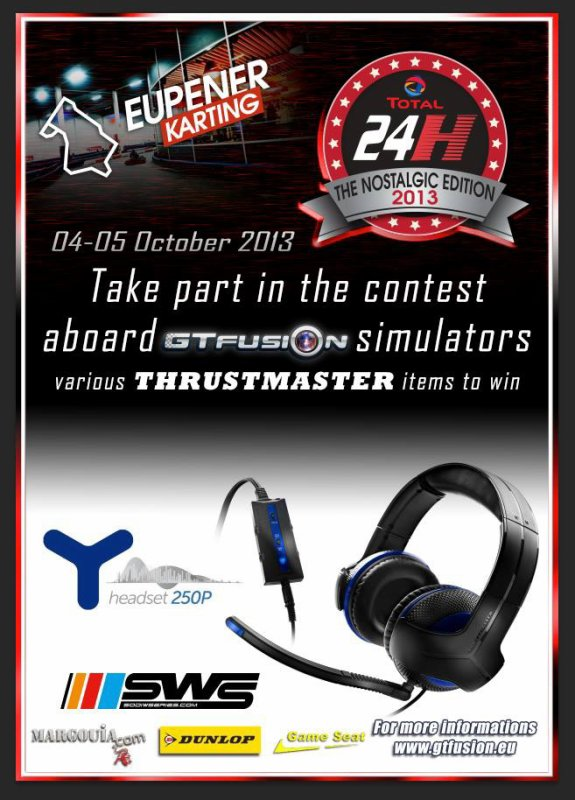 GTfusion contest at 24H Eupener Karting