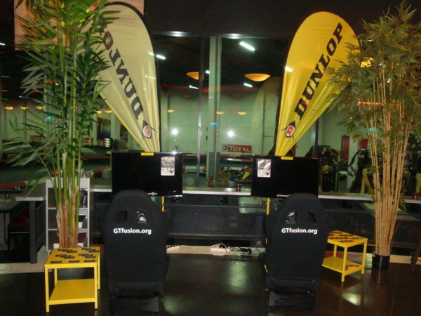 GTfusion Simulators are waiting you in Eupener Karting