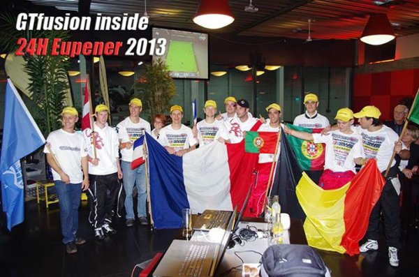 Team GTfusion.eu At 24H Eupener Karting