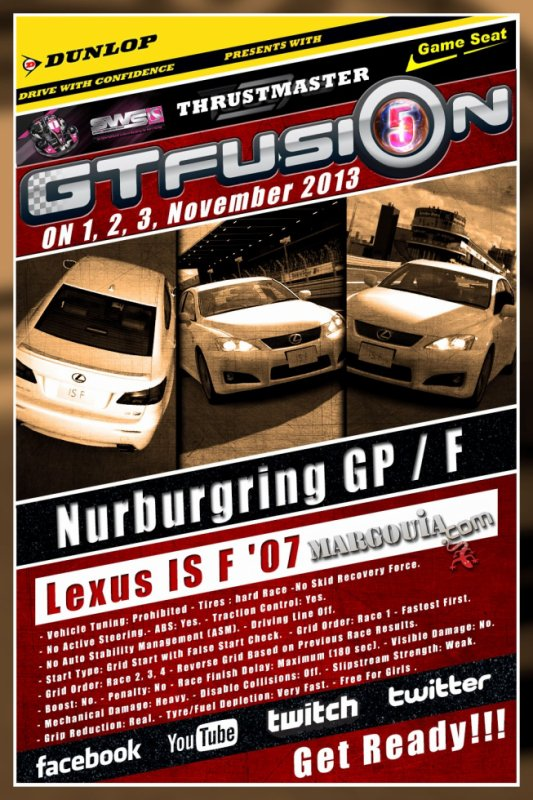 GTfusion Round 4 2013 World Championship