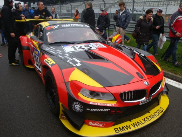 BMW Z4 Dunlop 125th Anniversary at VLN