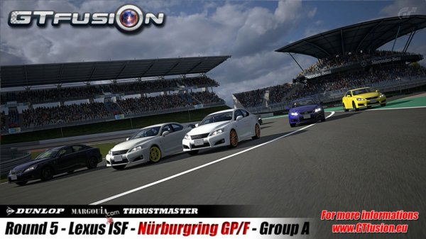 GTfusion Round 5 Race Pictures