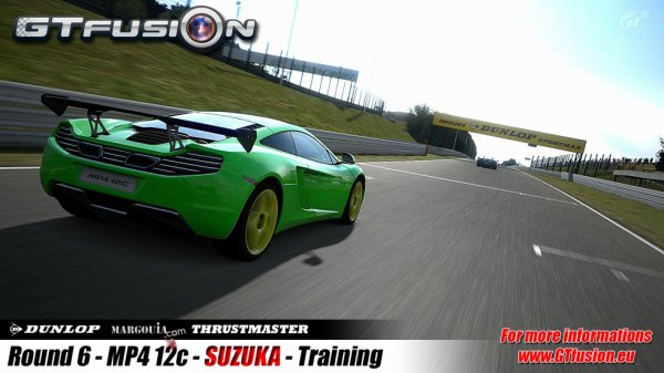 GTfusion Round 6 with Mclaren MP4-12C