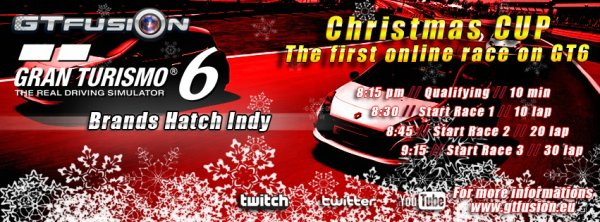 GTfusion the first online race on Gran Turismo 6