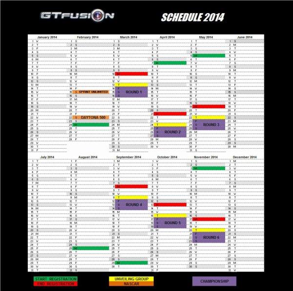 GTfusion Calendar 2014