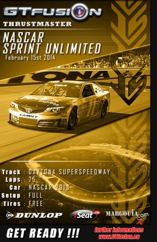 GTfusion Nascar Sprint cup Unlimited