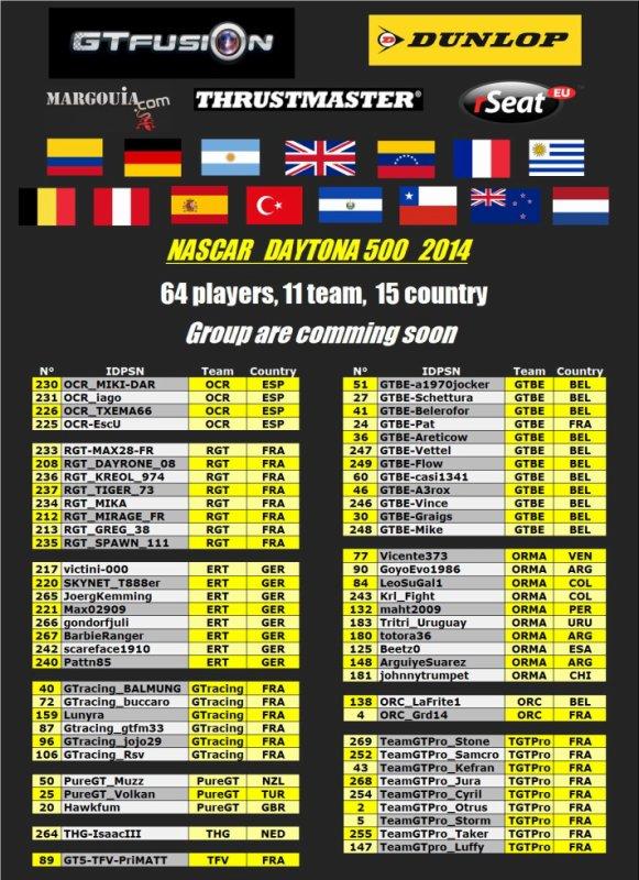 GTfusion Daytona 500 2014
