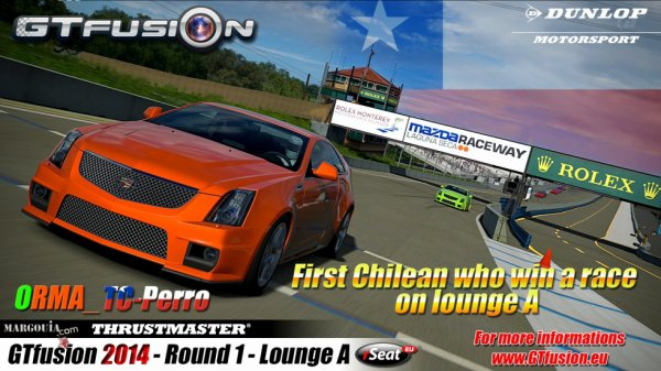 GTfusion 2014 ORMA winner