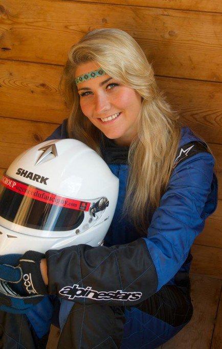 Jenna Frarin touche son rêve de Pilote
