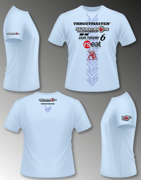 T-Shirt Thrustmaster Challenge 2014