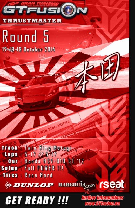 GTfusion Round 5 2014- Gran Turismo World Championship Online