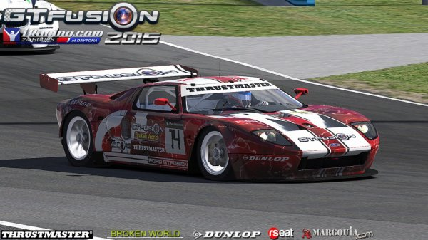 GTfusion Staff in 24H of Daytona 2015 i-Racing