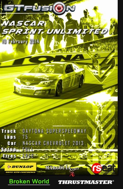 GTfusion Gran Turismo Championship Nascar Sprint Unlimited