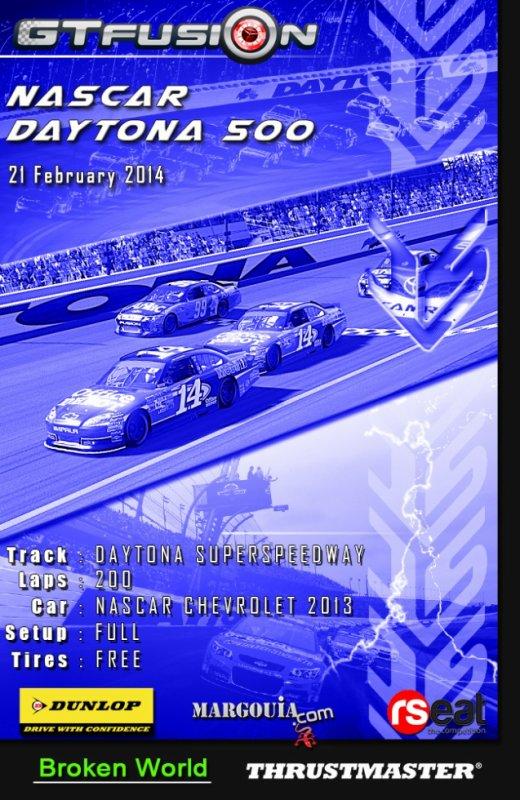 GTfusion Gran Turismo Nascar Daytona 500