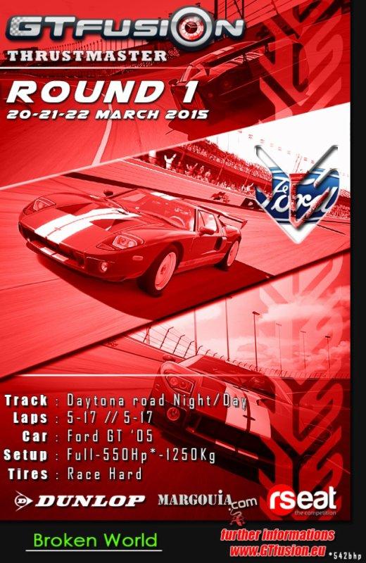 GTfusion Gran Turismo Online Championship 2015 Round 1