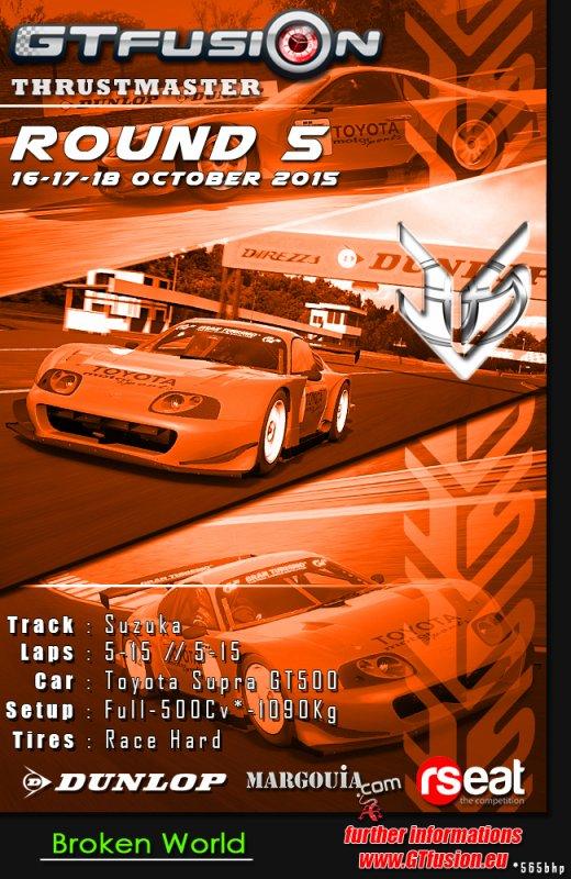 GTfusion Round 5 2015 - Gran Turismo World Championship