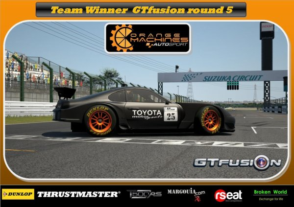Gran Turismo World Championship Online GTfusion Round 5