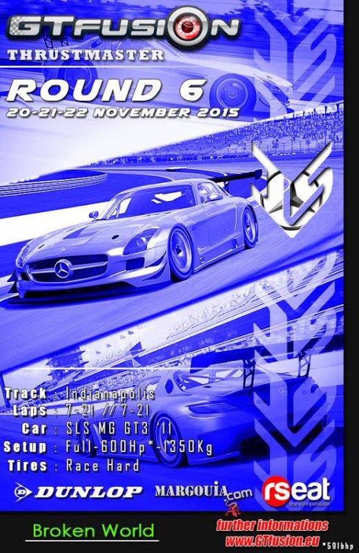 GTfusion Round 6 - Gran Turismo World Championship Online