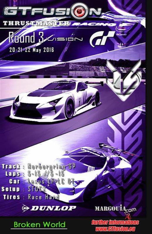 GTfusion - Gran Turismo World Championship - Round 3 2016