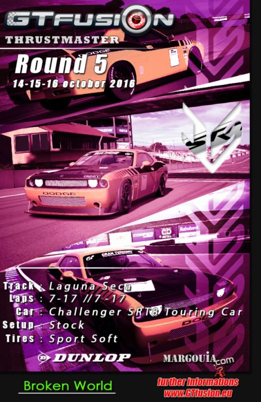 GTfusion Round 5 2016 - Gran Turismo World Championship