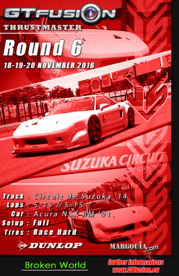GTfusion Round 6 2016 - Gran Turismo World Championship