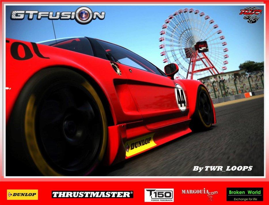GTfusion Round 6 2016 - Gran Turismo World Championship- Regulation