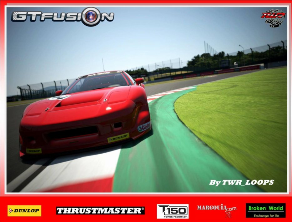 GTfusion Round 6 2016 - Gran Turismo World Championship- Training Pictures