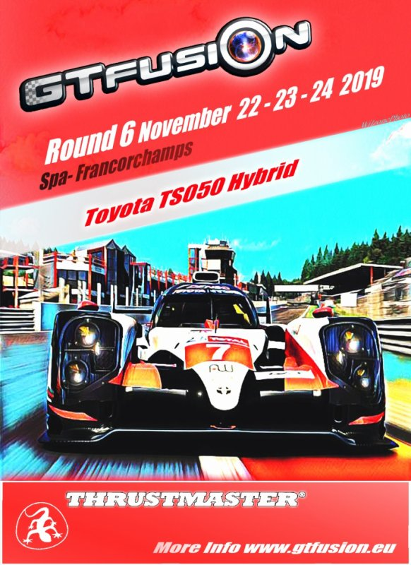 GTfusion GTSport world Championship Round 6 2019