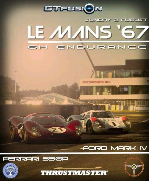 GTfusion GTSport Événement Spécial  Le Mans 1967