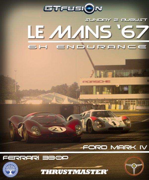 GTfusion Le Mans 1967