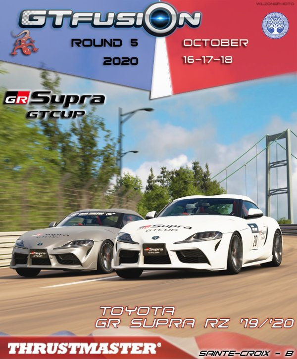 GTfusion GTSport world Championship Round 5 2020
